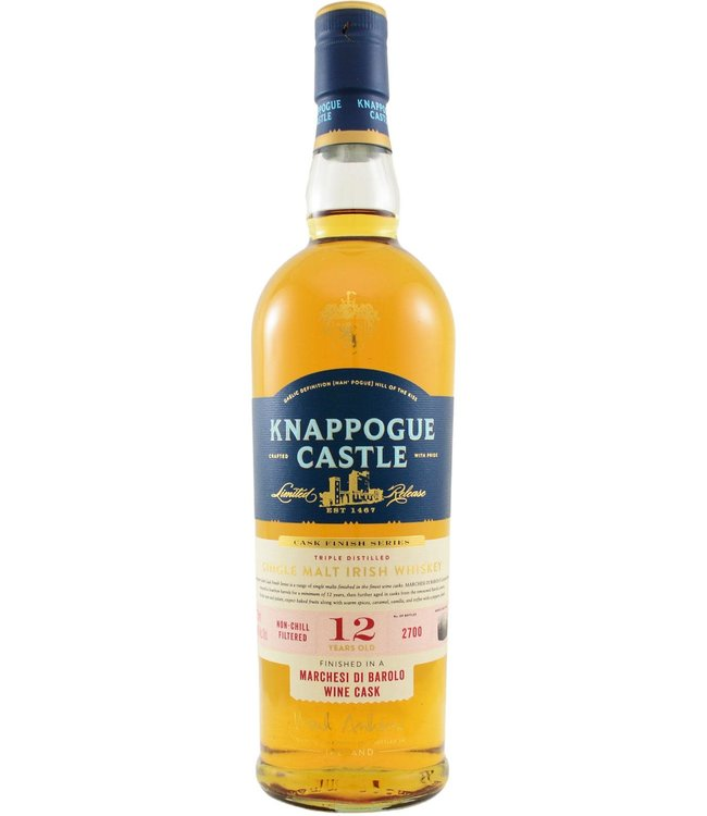 Knappoque Castle Knappogue Castle 12-year-old Barolo Cask Finish
