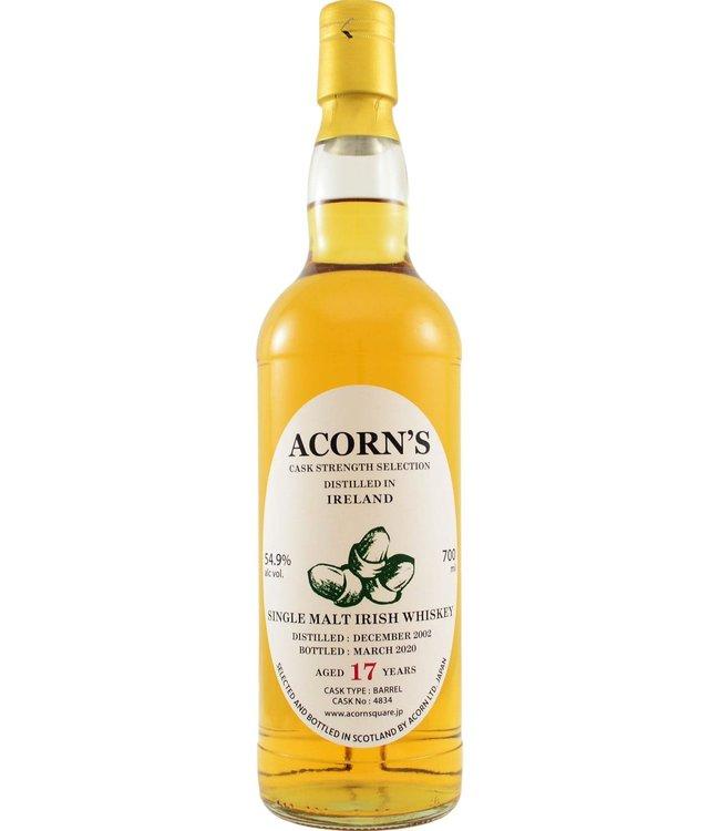 Single Malt Irish Whiskey 2002 Acorn