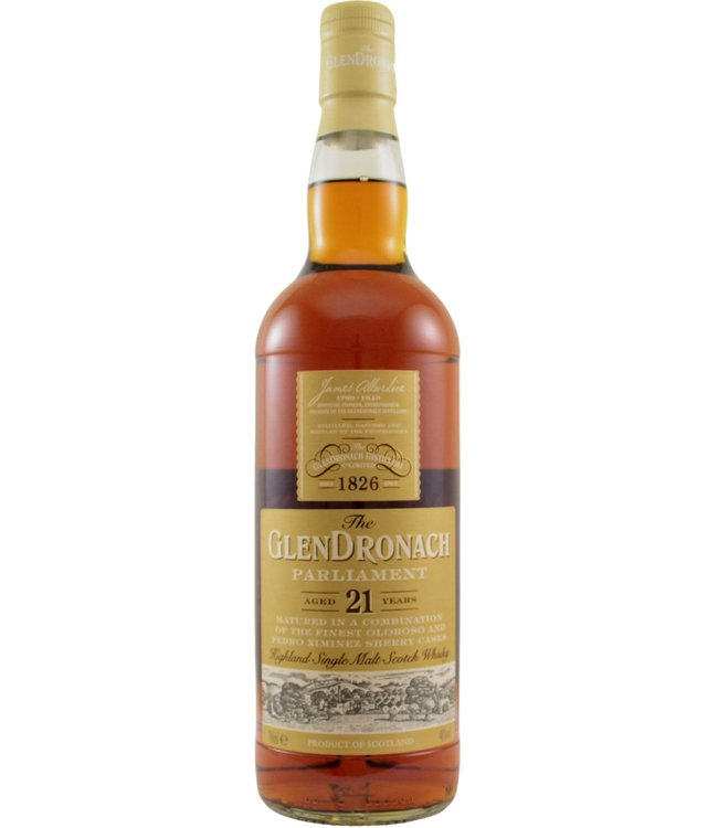 Glendronach Glendronach 21-year-old Parliament bottled 2018