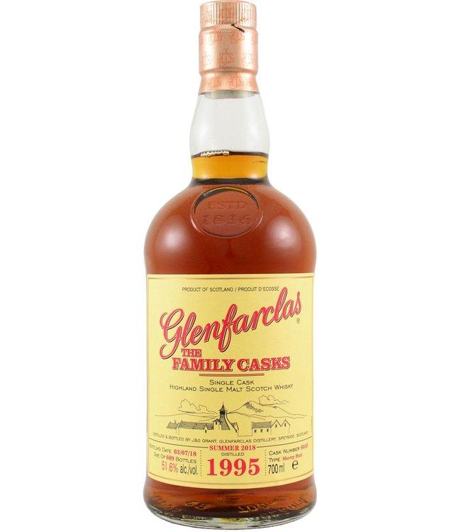Glenfarclas Glenfarclas 1995 - 51.6% The Family Casks