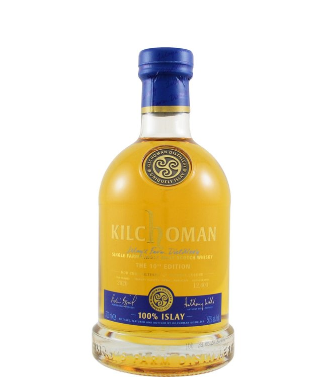 Kilchoman Kilchoman 100% Islay - 10th Edition 2020
