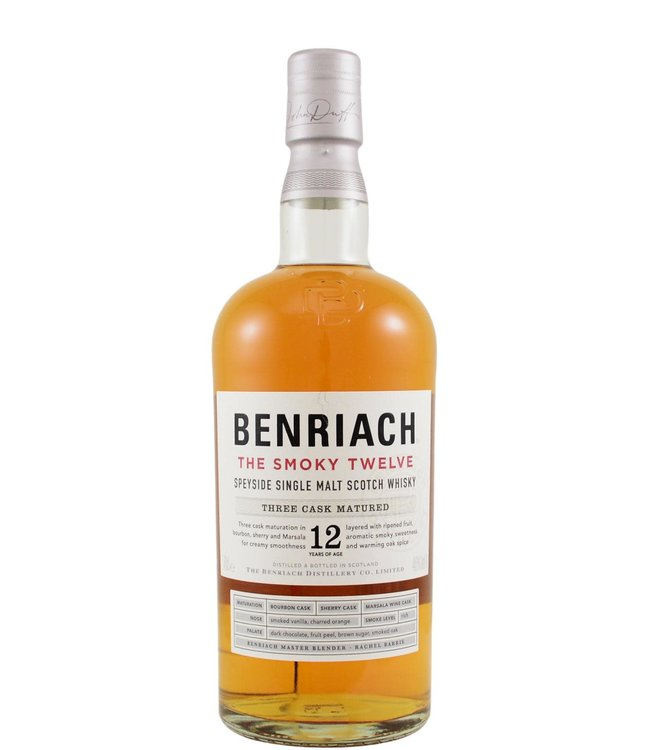Benriach BenRiach 12-year-old The Smoky Twelve