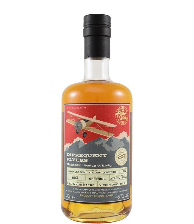 An Undisclosed Speyside Distillery 1992 Alistair Walker Whisky Company