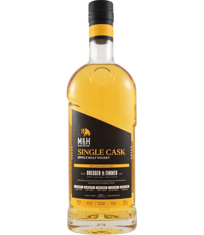 Milk & Honey Whisky Distillery Milk & Honey  2017 Single Rum Cask for B&T