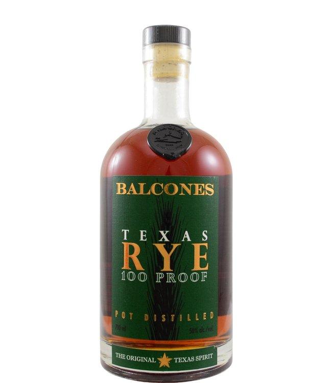 Balcones Balcones Texas Rye 100 Proof