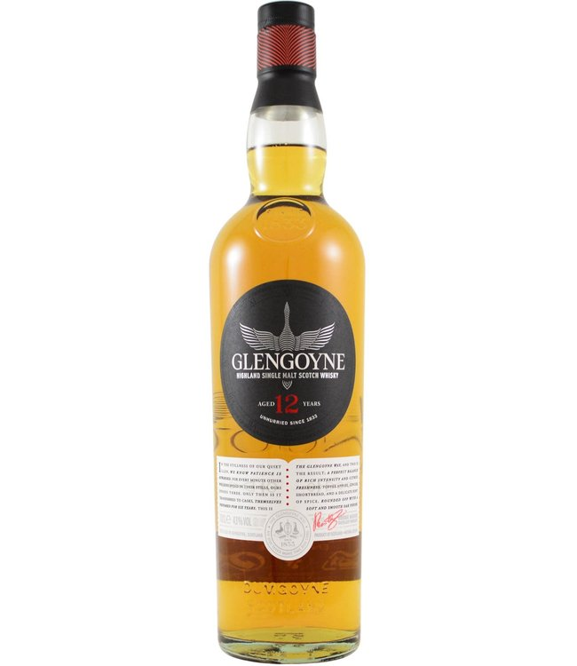 Glengoyne Glengoyne 12-year-old - New Label 2020