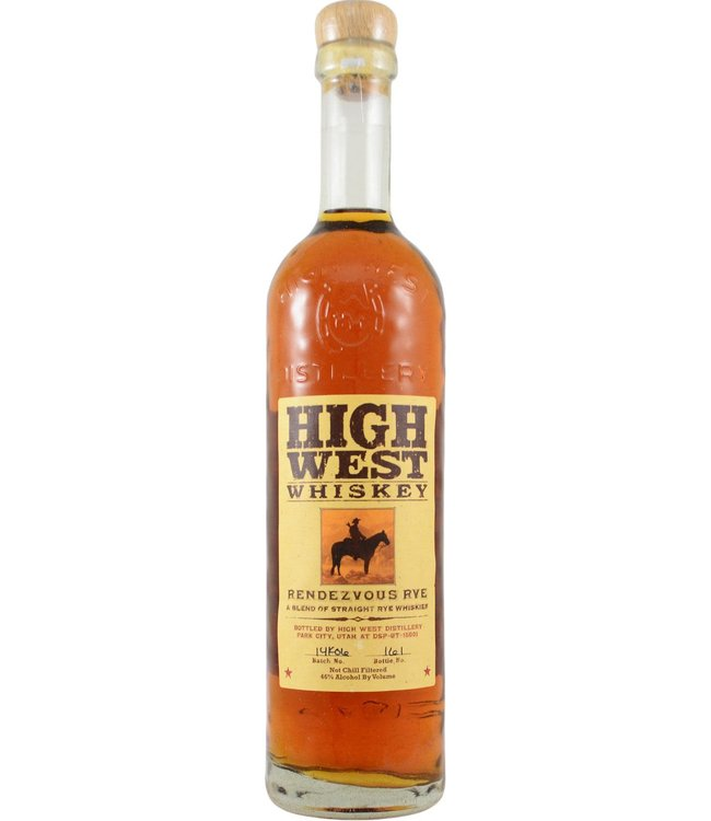 High West Distillery High West Rendezvous Rye