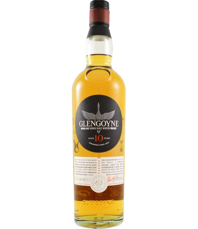 Glengoyne Glengoyne 10-year-old - New Label 2020