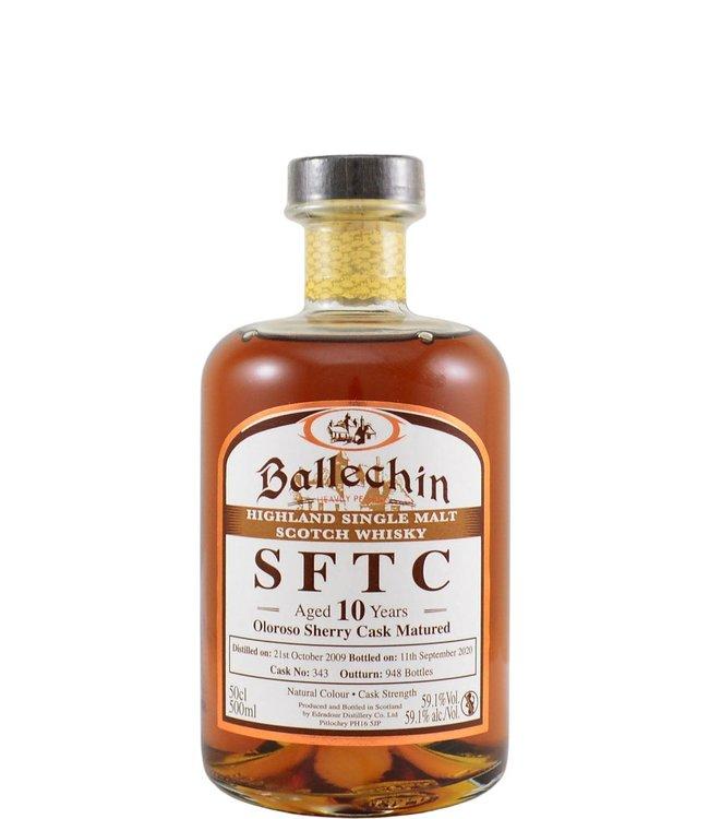 Ballechin Ballechin 2009 SFTC Oloroso - 59.1%