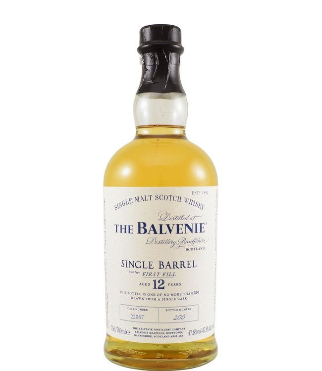 Balvenie Balvenie 12-year-old Single Barrel 22067