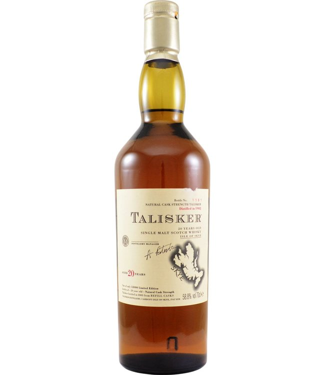 Talisker Talisker 20-year-old 1982