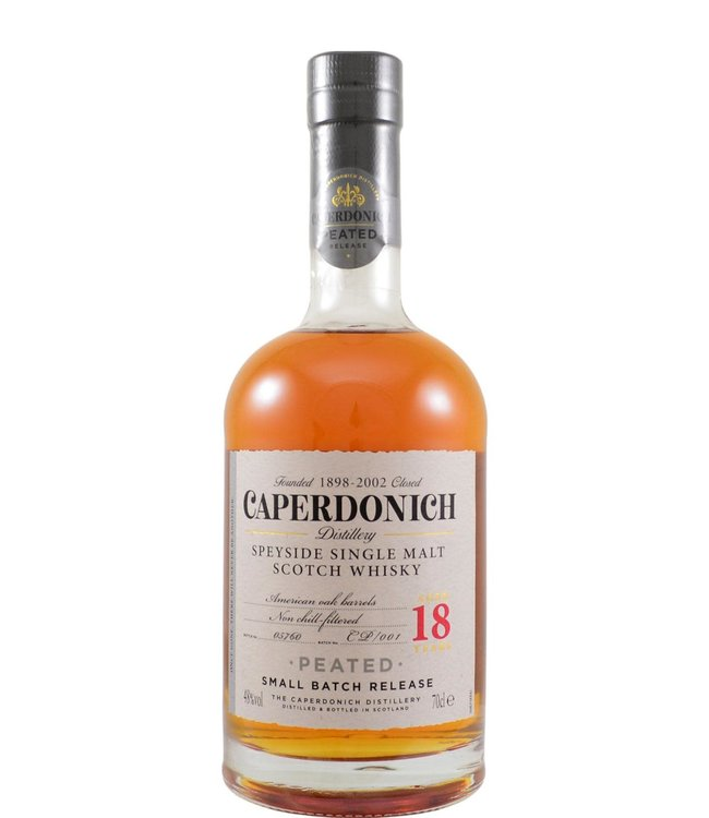Caperdonich Caperdonich 18-year-old - Peated