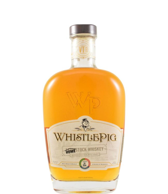 Whistlepig WhistlePig Homestock  Crop No. 004