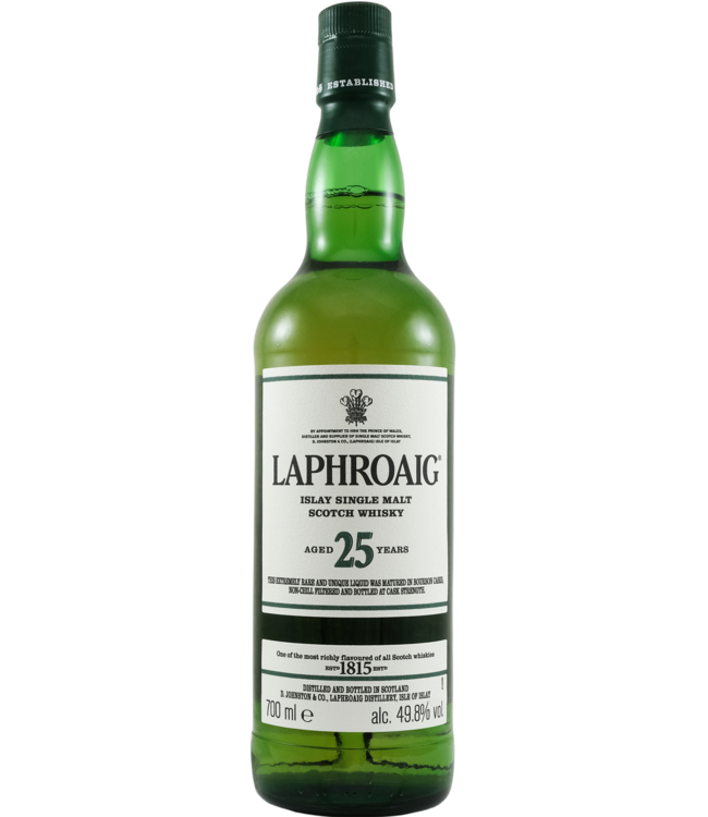 Laphroaig Laphroaig 25-year-old - 2020 edition 49.8%