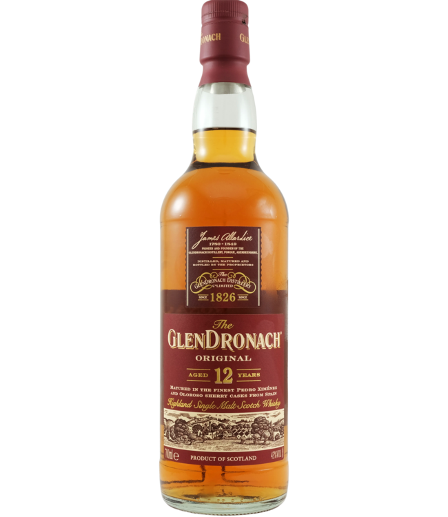 Glendronach Glendronach 12-year-old Original - 2020 Edition