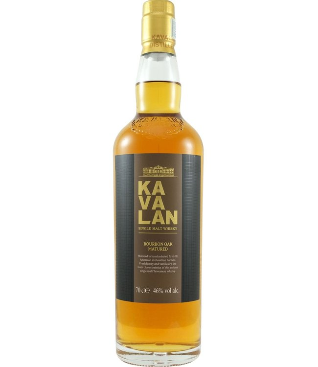 Kavalan Kavalan Bourbon Oak Matured