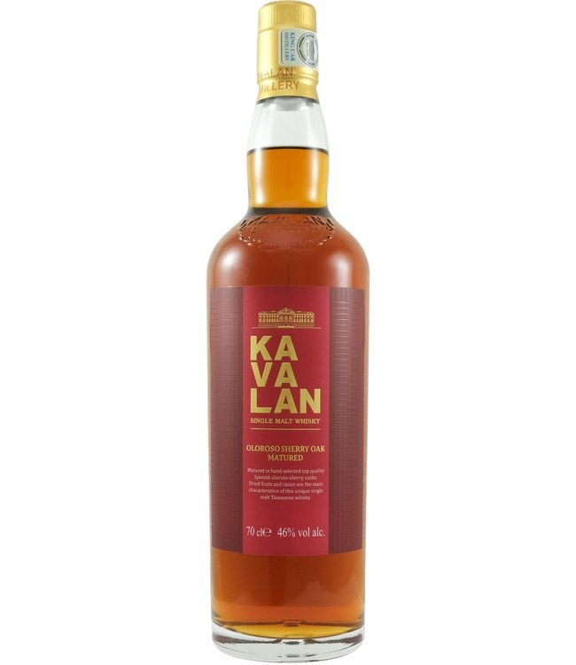 Kavalan Kavalan Oloroso Sherry Oak Matured