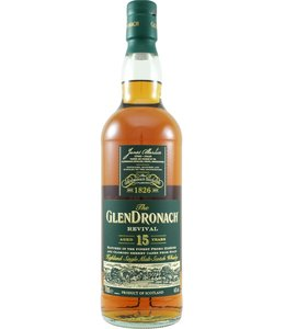 Glendronach 15-year-old Revival 2020