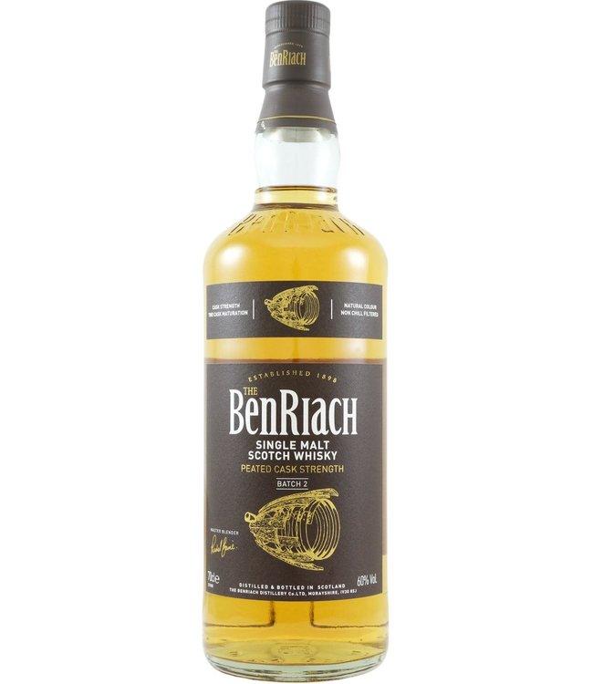 Benriach BenRiach Peated Cask Strength - Batch 2