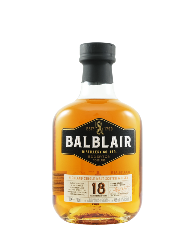 Balblair Balblair 18-year-old