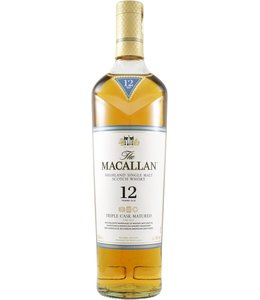 Macallan 12-year-old Triple Cask Matured