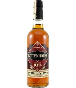 Rittenhouse Straight Rye Whiskey 100 Proof