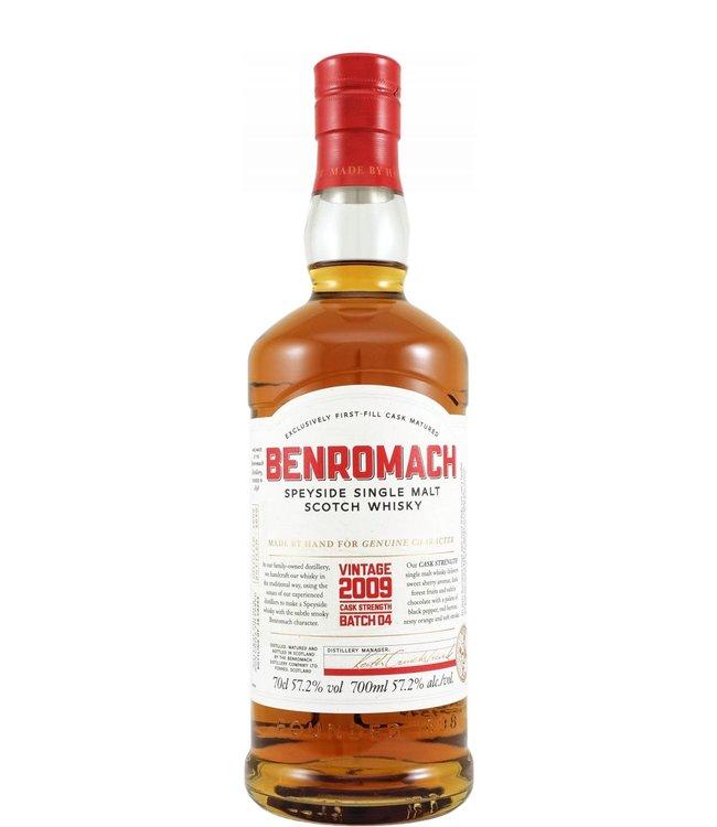 Benromach Benromach 2009 - Cask Strength Batch 4