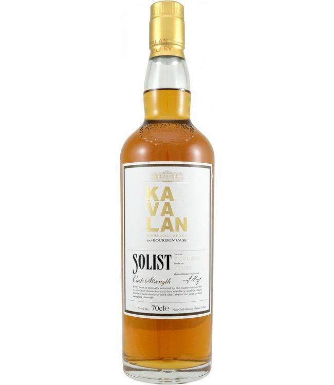 Kavalan Kavalan Solist Bourbon - Cask B101214050A
