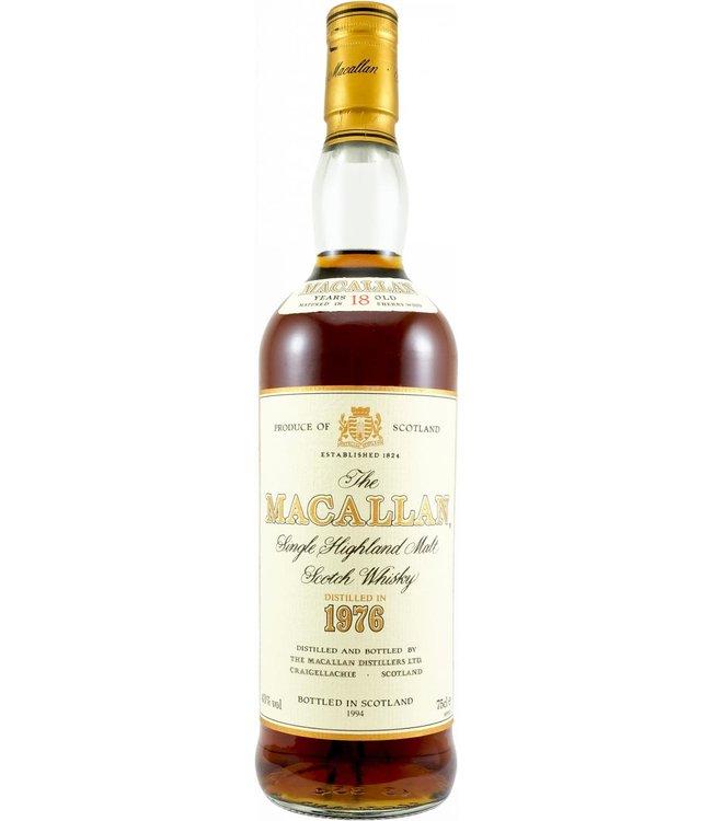 Macallan Macallan 1976  18-year-old bottled 1994