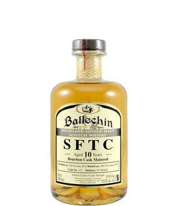 Ballechin 2010  SFTC Bourbon - Cask 331