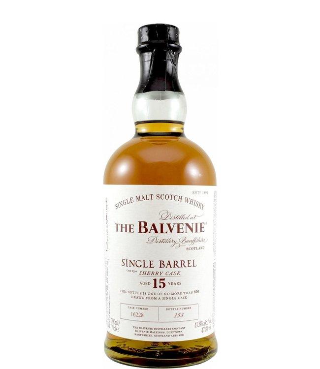 Balvenie Balvenie 15-year-old - Single Barrel 16228