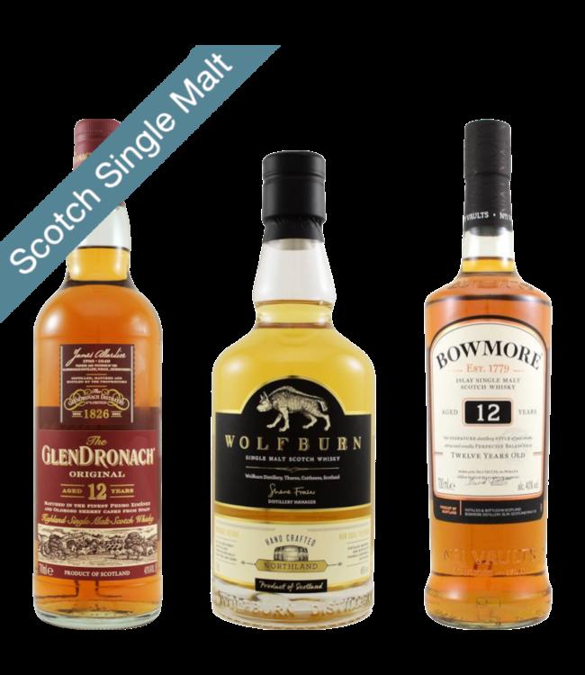 Scotch Single Malt Introduction Bundle