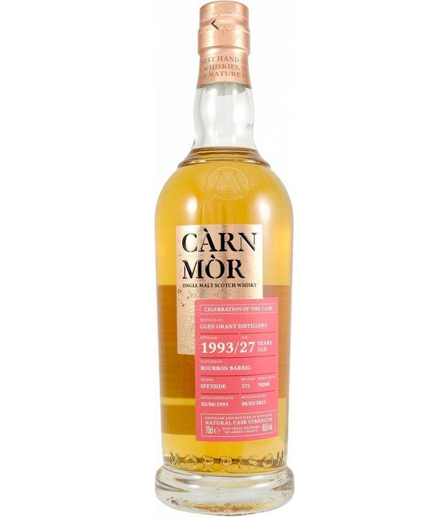 Glen Grant Glen Grant 1993 Morrison Scotch Whisky Distillers