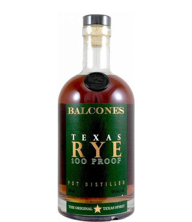 Balcones Balcones Texas Rye 100 Proof - 10020-1