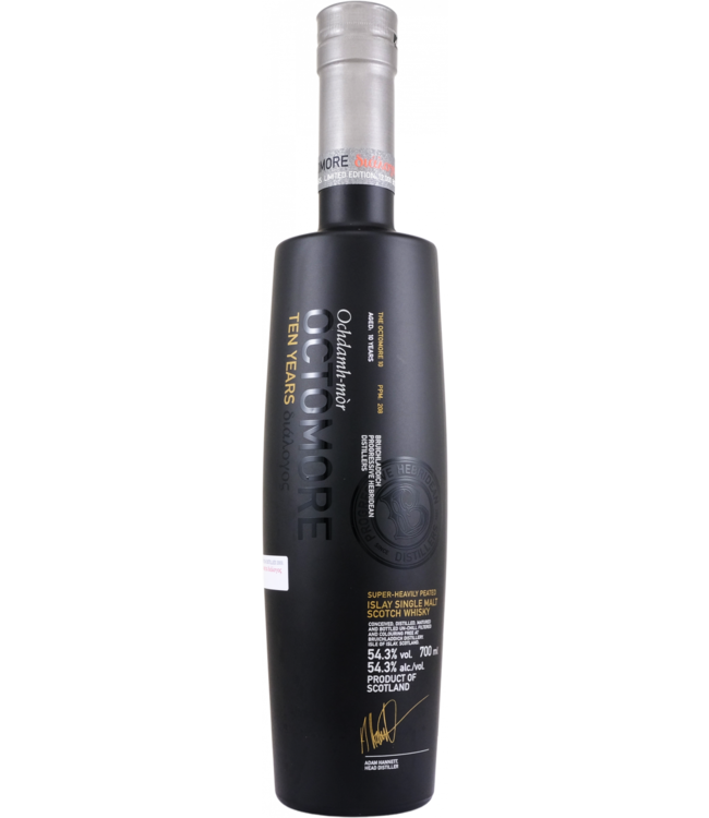 Octomore Octomore 10-year-old διάλογος - 208 ppm
