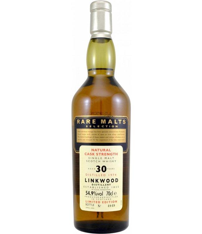 Linkwood Linkwood 1974 Rare Malts - Bottle 4949 - no box