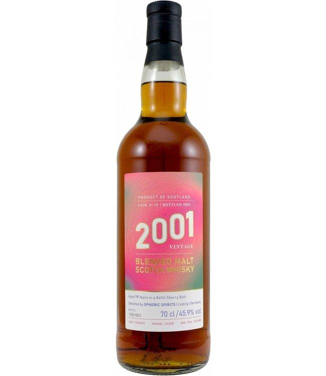 Blended Malt Scotch Whisky 2001 Spheric Spirits