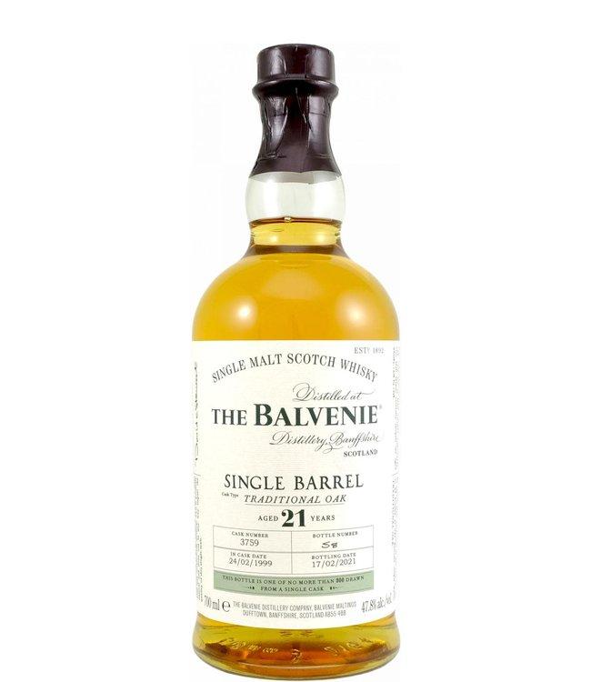 Balvenie Balvenie 21-year-old - Single Barrel 3759