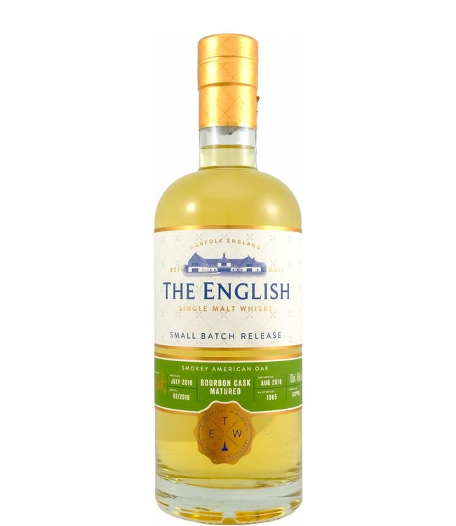 The English Whisky The English Whisky 2010 Bourbon Cask Matured