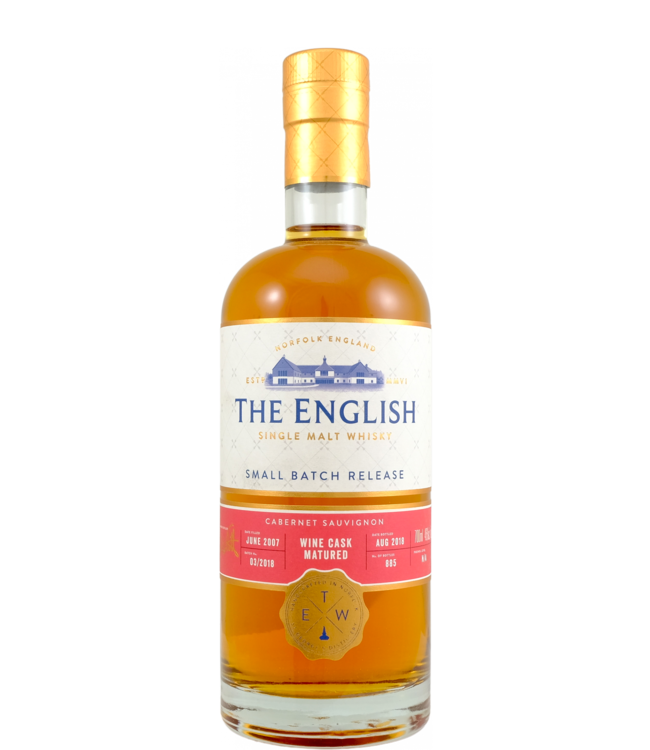 The English Whisky The English Whisky 2007 Wine Cask Matured
