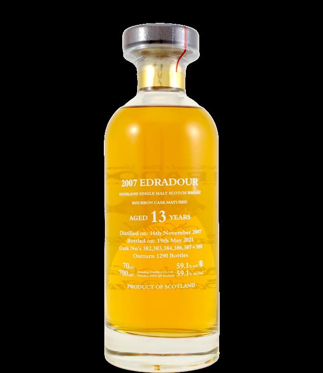 Edradour Edradour 2007 - Bourbon Casks - 59.1%