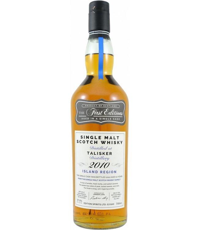 Talisker Talisker 2010 Edition Spirits
