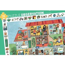 Observation Puzzle - het Huis (35 stukjes)