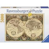 Puzzel - Antieke Wereldkaart (5000)