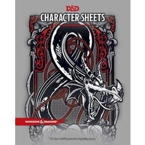 D&D 5th Edition: Character Sheets (2017)