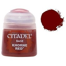 Khorne Red (scab red)