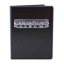 4-Pocket Portfolio Collectors Black C12