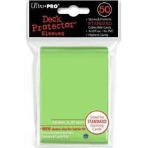 Sleeves solid Light Green (50)
