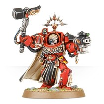 Blood Angels Captain: In Terminator Armour