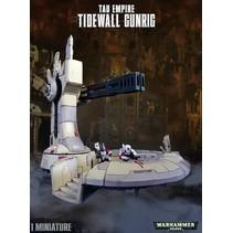 Tau Empire: Tidewall Gun Rig (scenery)